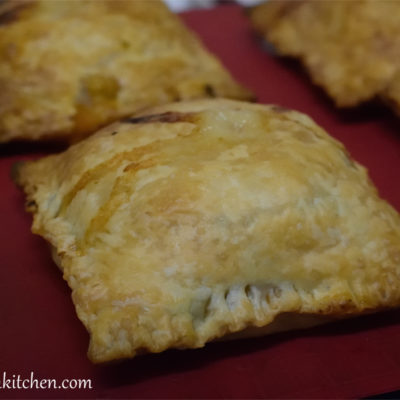 Hamburger pies. A different way of using burger patties.