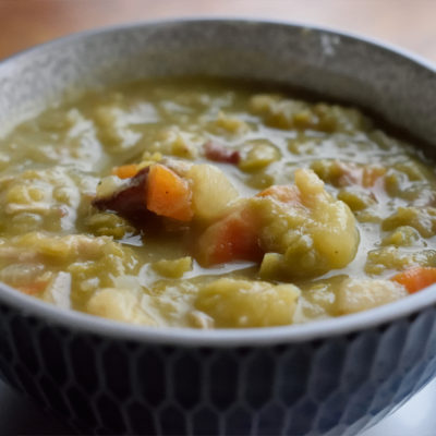 Snert. Dutch pea soup.