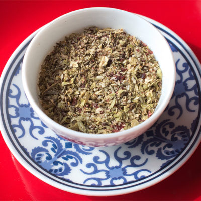 Homemade za'atar spice mix