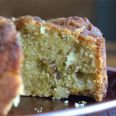 Nutty Polenta Cake