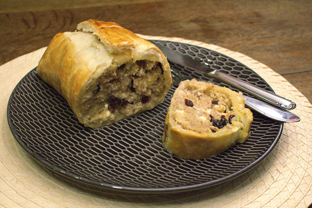 Mince Wellington with Cranberries 1