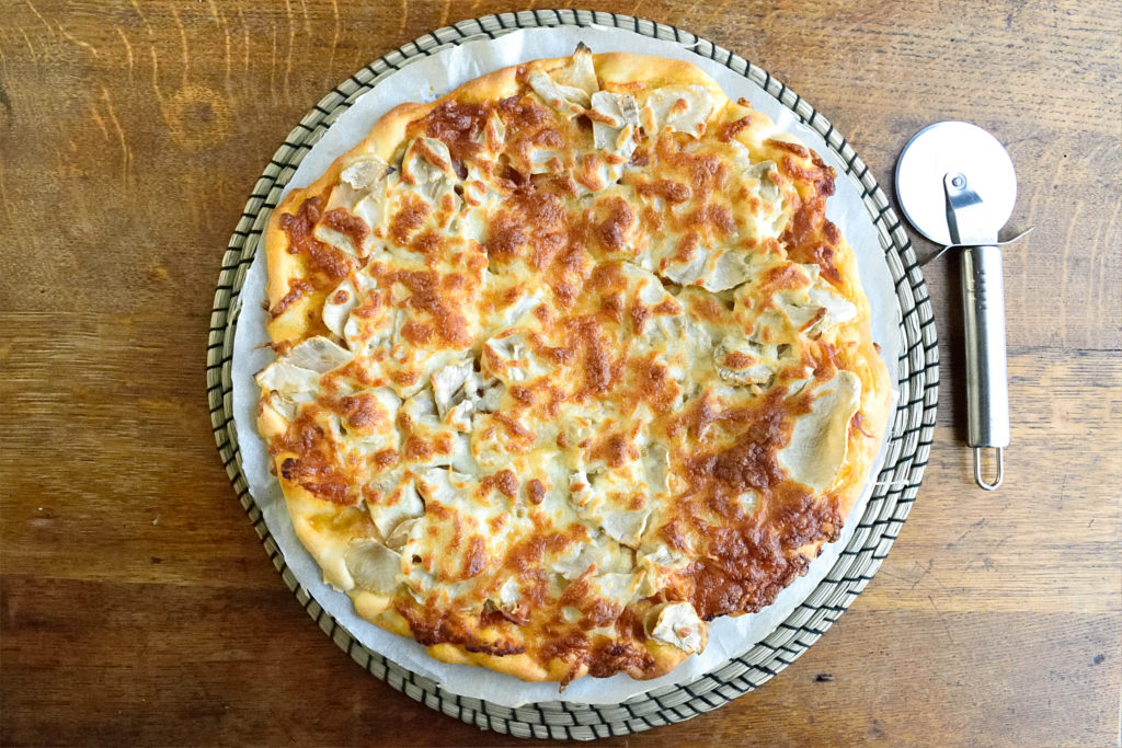 Pizza met Aardpeer