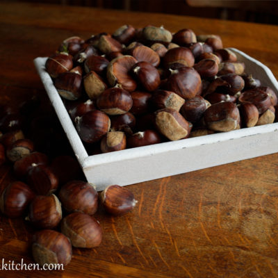 How to cook fresh chestnuts