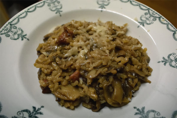 Easy oven risotto