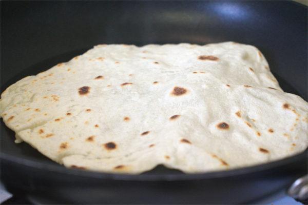Make your own flour tortilla wraps