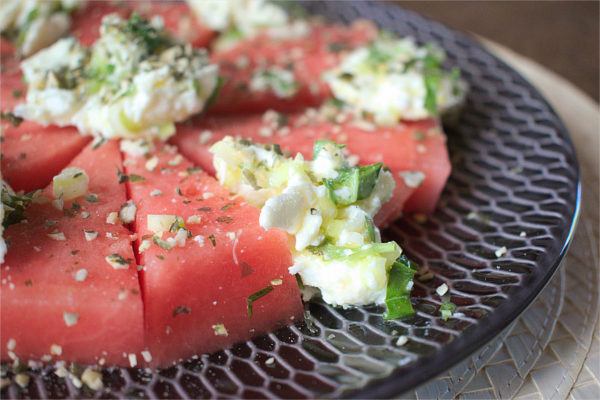 Watermelon And Mozzarella Salad